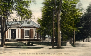 Old Walpole Library